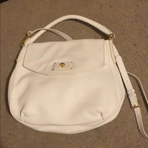 White Marc by Marc Jacobs Satchel